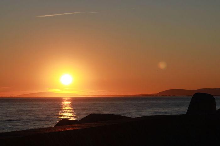 Beauty In Nature Couché De Soleil Mer Mediterranée Sun Sunset