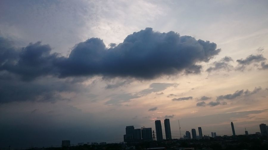 The Week On EyeEm dark cloud 0riginal Taking Photos Nice View From South Of Jakarta