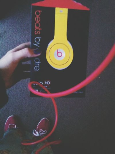 wwwhhhooo i finally got Beats By Dre