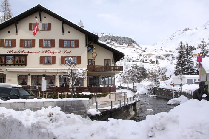 Switzerland❤️ Snow Winter Cold Temperature Building Exterior House Architecture Built Structure Residential Building Outdoors Sky Snowdrift Mountain Beauty In Nature
