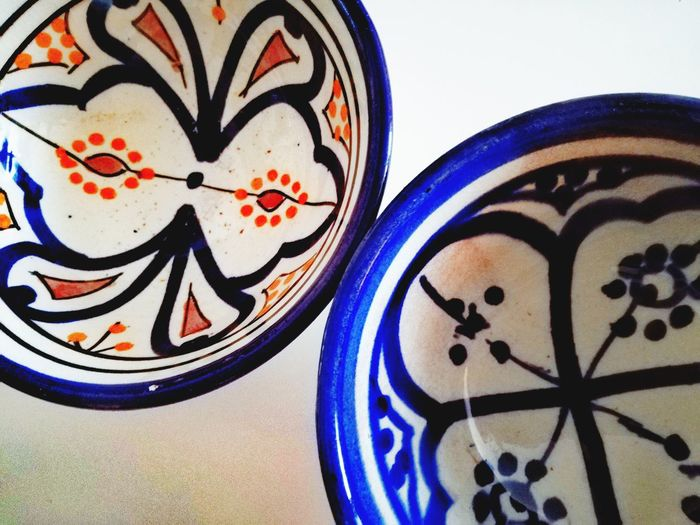 Morocco Blues Artisanat Ceramic Art Ceramic Art Craft Art And Craft Indoors  No People Close-up Blue Day