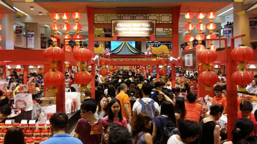 Takashimaya  Chinese New Year Bazaar Chinese New Year Chinese Culture Decor Red Decor January 2017 Singapore