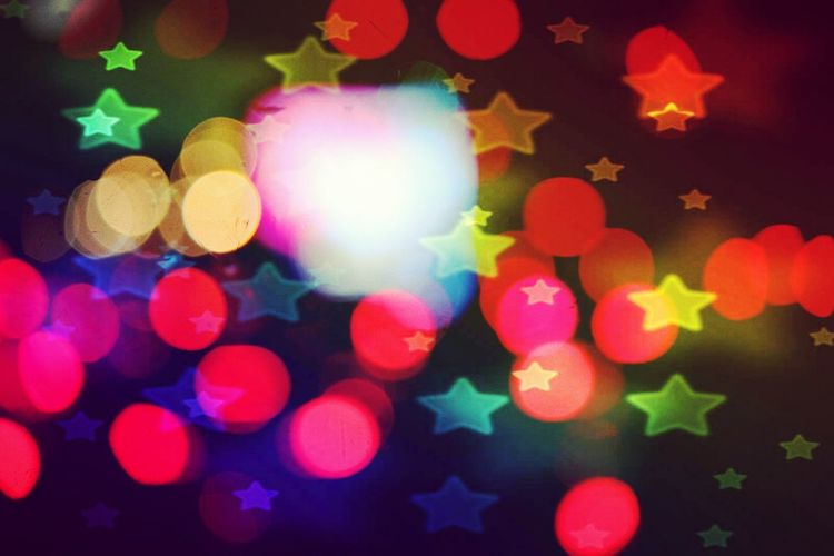 6Bokeh Art... Starz n Cypherez... Multi Colored Defocused Illuminated Abstract Vibrant Color Spotted No People Arts Culture And Entertainment Technology Neon Rainbow Light Effect Shiny Pastel Colors Happiness Fun Red Speed