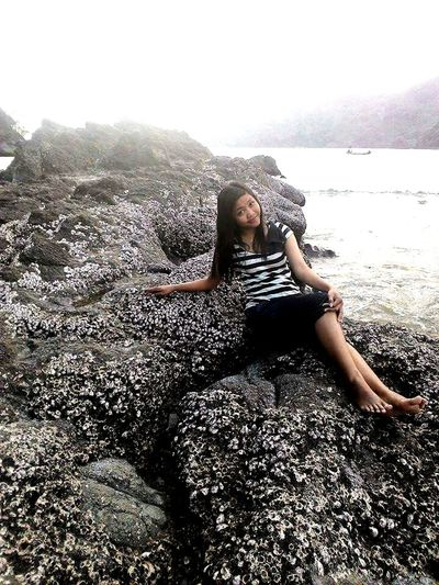 Leisure Activity Lake Person Lifestyles Full Length Water Sitting Relaxation Tranquil Scene Non-urban Scene Casual Clothing Scenics Tranquility Young Women Nature Vacations Playing Beauty In Nature Mountain Young Adult Lenggoksono Beach Malang Selatan Visitindonesia Indonesian Girl Malang East Java