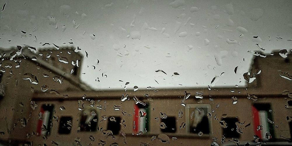Battle Of The Cities Rainny Kuwait City Kuwait