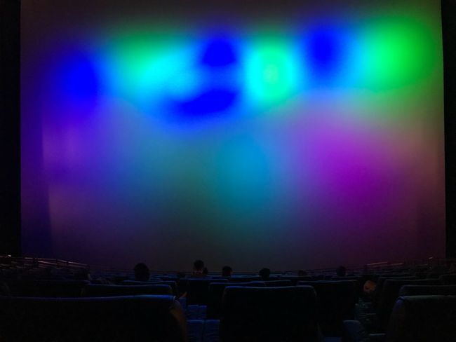 Rows Colorful Colors Screen MOVIE Cinema Group Of People Auto Post Production Filter Real People Arts Culture And Entertainment Illuminated Night Indoors  Unrecognizable Person Seat Stage Crowd People