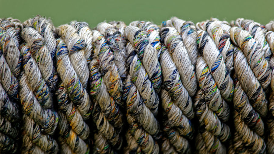 Abundance Backgrounds Close-up Day Full Frame In A Row Large Group Of Objects Man Made Man Made Object No People Outdoors Paper Pattern Ribbon - Sewing Item Rolled Up Rope Stack Still Life Textured  Twisted