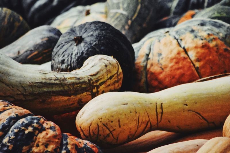 Close-Up Of Squashes For Sale