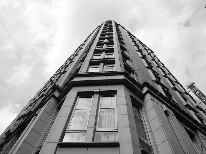 #Awesome_shots #photoedit #photowall #picoftoday #photooftheday #ipopyou #instagamous #beautiful #instagramhub #igaddict #jj_for #Black&White #blackandwhite #City #citylife #ginza #sky #tokyoginza Building Exterior First Eyeem Photo