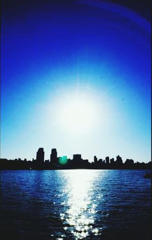 Sunshine Flair Han River Cityscape @korea seoul jayang-dong @Panasonic Lumix / LX7