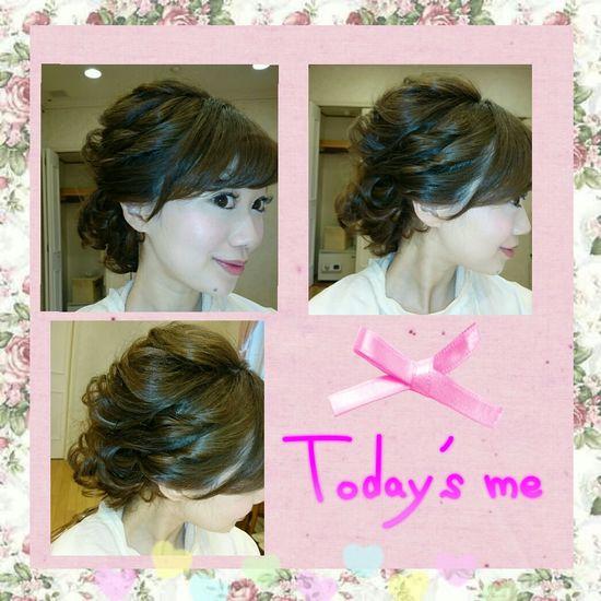 Hello World Celebration Wedding Photography Selfie ♥ Mywedding 日本 写メ Long Hair Hairstyle 💇 Makeup ♥ Hairmakeupdiary Beauty Itmylife Japan Hairset