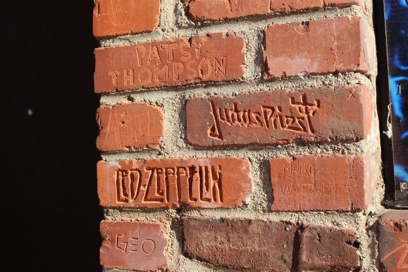 Text Brick Brick Wall Wall Wall - Building Feature No People Red Day Outdoors Textured  Sunlight Close-up Architecture