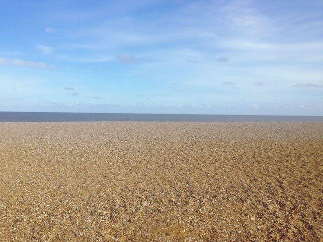 Strand Steinchen Meer Suffolk