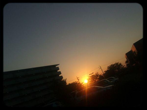 Relaxing Sunset Sky