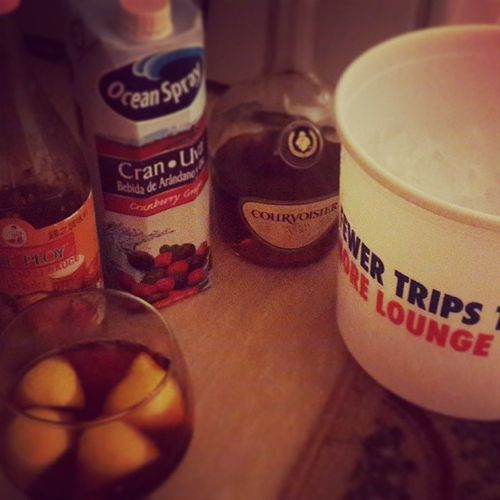 DrinkingParty PapaCola2425 Kaput CranberryCourvoisierLemonWedge Headache MedicalOff