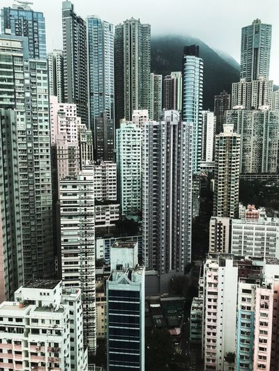 37th Floor view Room With A View ShotOnIphone Concrete Jungle Architecture Travel Urban Skyline Hong Kong Built Structure Building Exterior Architecture Building City Office Building Exterior Cityscape Pattern No People Skyscraper Landscape Modern Tall - High Backgrounds High Angle View Office Sky Urban Skyline Financial District