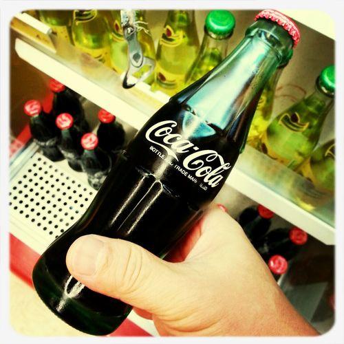 Coke Cocacola Drink Bottle
