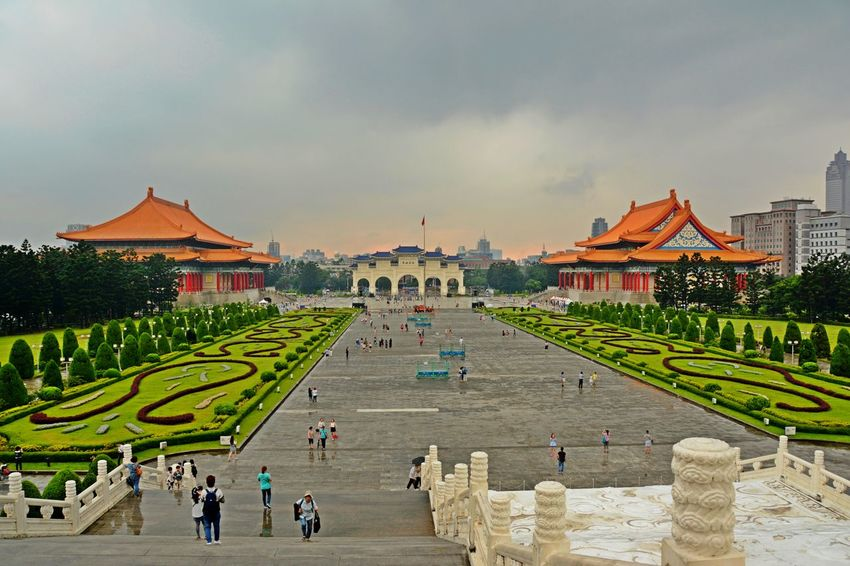 Chiang Kai-shek Memorial Hall The Week On EyeEm Architecture Building Exterior Built Structure Outdoors Taipe Photography Travel Destinations