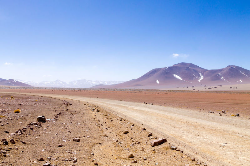Bolivian dirt