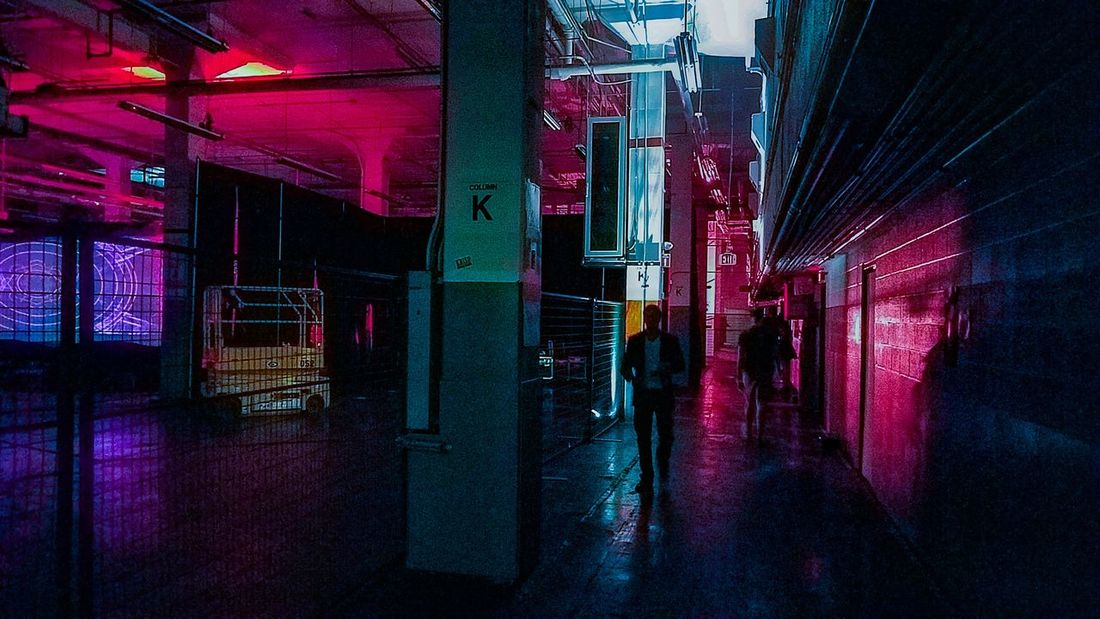 Night Illuminated Nightlife Built Structure Indoors  No People Architecture Nightclub Neon City Indoors  Warehouse Back Stage Adults Only People Samsung Galaxy S7 Edge Neon Life