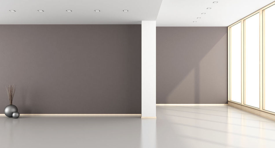 Architecture Domestic Room Empty Home Interior Home Showcase Interior Indoors  Modern No People White Brown Window