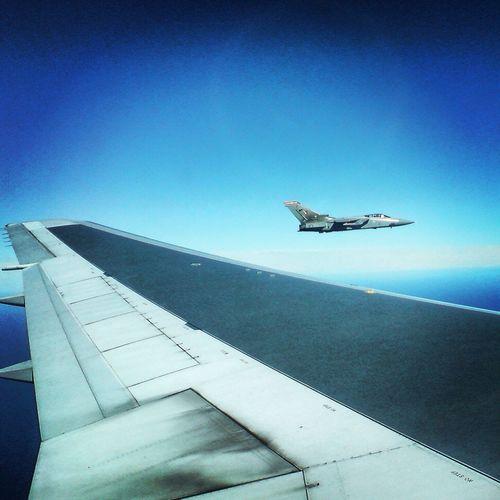 From An Airplane Window Tornado F3 Falkland Islands Raf