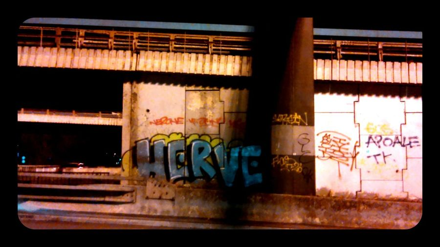 Vandalism Notes From The Underground Highway Lille
