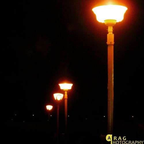Row of lamp...Parag_photography River_front Photography Surat Canon_lover Surat_photography
