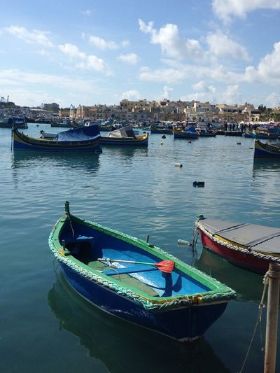Thinking about holiday Holiday Sea Boat Boats Colors Landscape Nature Malta Nofilter Details