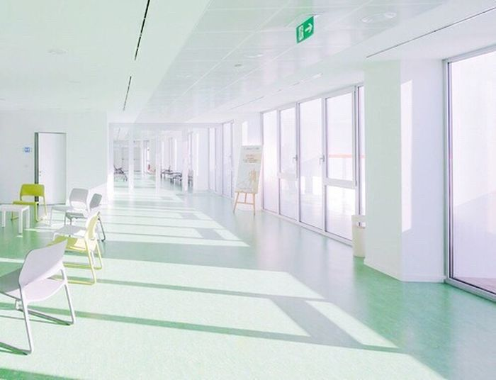 Mint Green Hospital Cute Love Peace