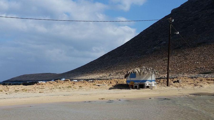 Beach Sand Crete Greece Crete Caravan Stavros Beach EyeEmNewHere