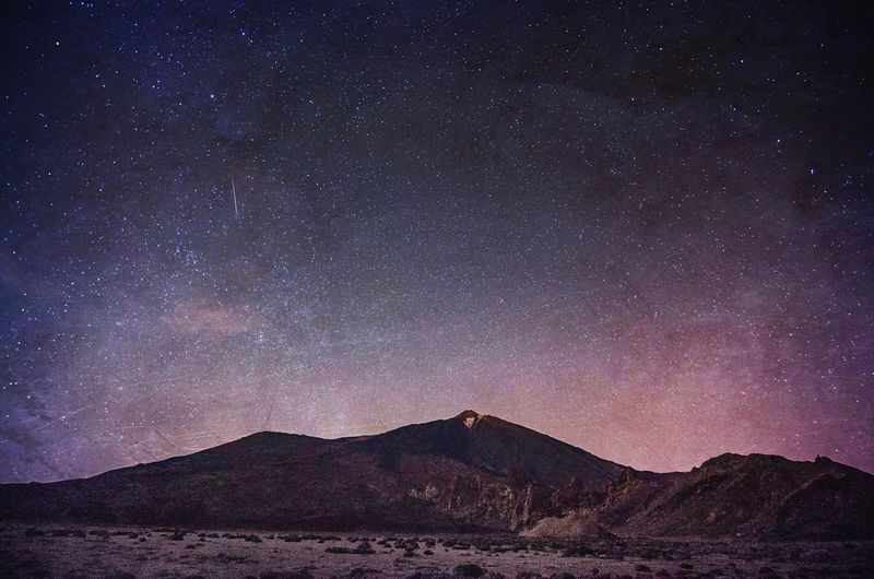 Teide by Night | Mt Teide, Tenerife Volcanoes Nightphotography Long Exposure Sky And Clouds The EyeEm Facebook Cover Challenge The Adventure Handbook EyeEm Masterclass Mextures Edge Of The World Tenerife