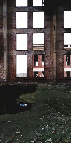 Küstryn4 Industry Ruins Colateral Window Architecture Indoors  Built Structure No People Day Water