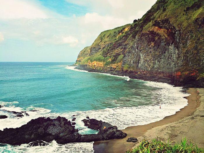 Beach Sumer Sao Miguel-Azores Praia Da Caloura