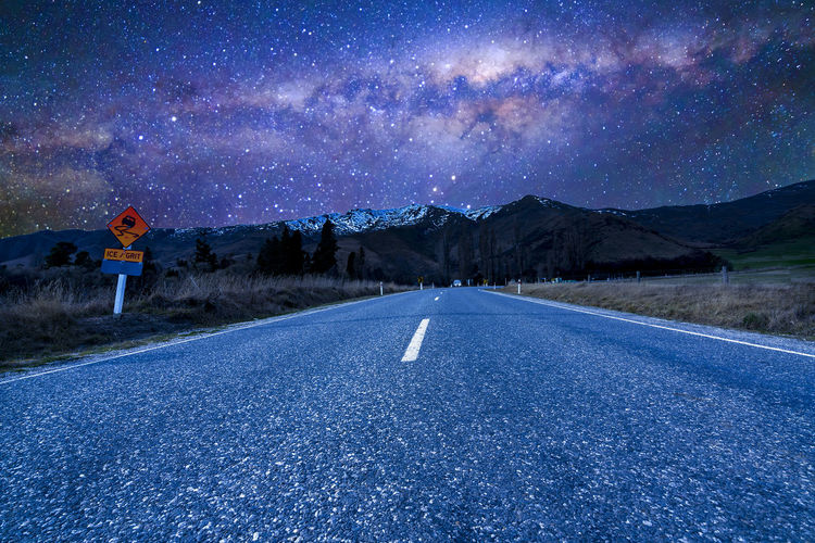 Constellation Cosmos NZ Road Science Travel Astro Astronomy Cosmic Direction Drive Elipse Lane Milky Way Milkyway Nature Nebula New Zealand Night Space Stellar Streetphotography Universe