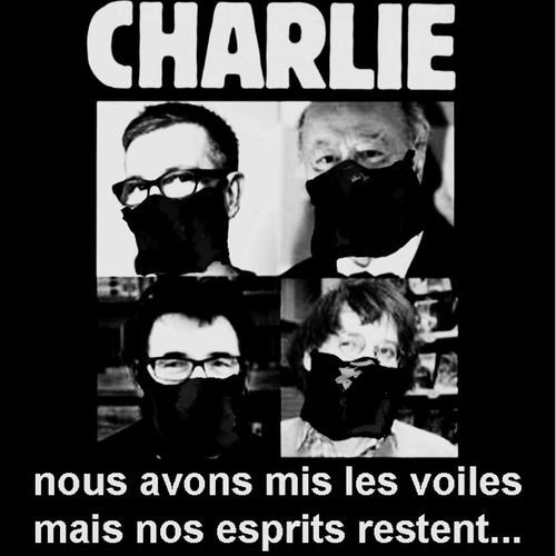 Charlie Jesuischarlie Humor Religion Mockery Cabu Wolinsky Charb Tignous Honoré