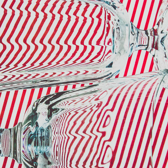 Abstract Backgrounds Clean Close Up Close-up Day Glass Glass Art Graphic Graphic Design Indoors  Minimal Minimalism No People Pattern Red Simplicity Still Life StillLifePhotography Striped Striped Pattern Transparent Walldecoration Wineglass