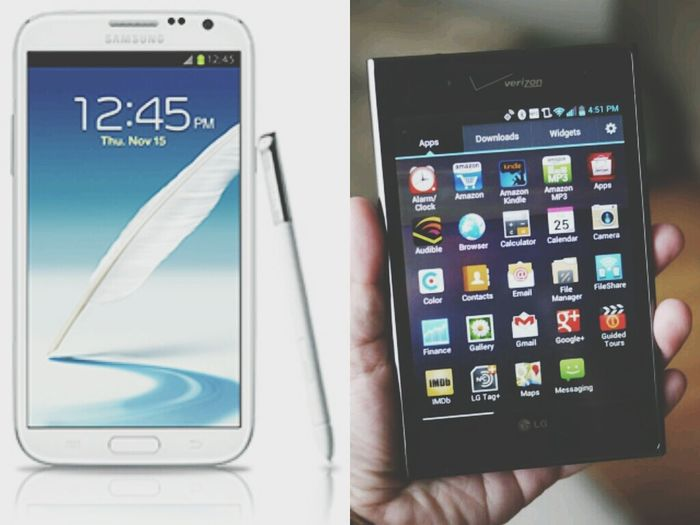 Bored Want Galaxy Note II LG Intuition