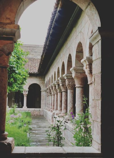 The Cloisters The Met Museum Newyorkcity Thecloistersmuseum 13thcentury Monastery Built Structure Architecture Arch Building Exterior Plant Day History Building The Past No People Nature Architectural Column Window Tree Old Outdoors Growth Sunlight Courtyard  The Still Life Photographer - 2018 EyeEm Awards The Traveler - 2018 EyeEm Awards The Architect - 2018 EyeEm Awards