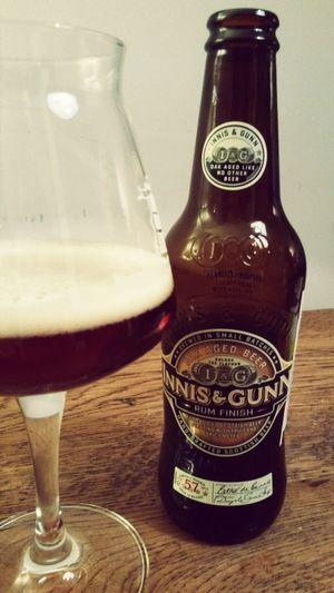 Innis & Gunn Rum Finish Oak Aged Beer @ Home Bier Craftbeer Biers & Bars Tagdesbiers