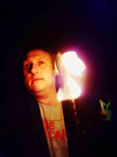 Taking Photos Enjoying Life Cheese! That's Me The Marches Scotland Fire Torch
