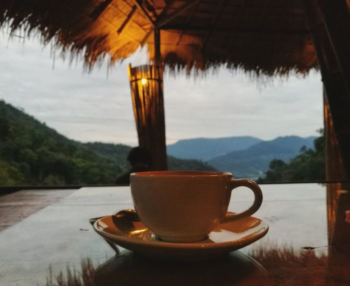 Coffee Cup Tea - Hot Drink Coffee - Drink Drink Tea Cup Heat - Temperature Refreshment Freshness Afternoon Tea Coffeelovers Coffe Time Moutain View Coffeeaddict