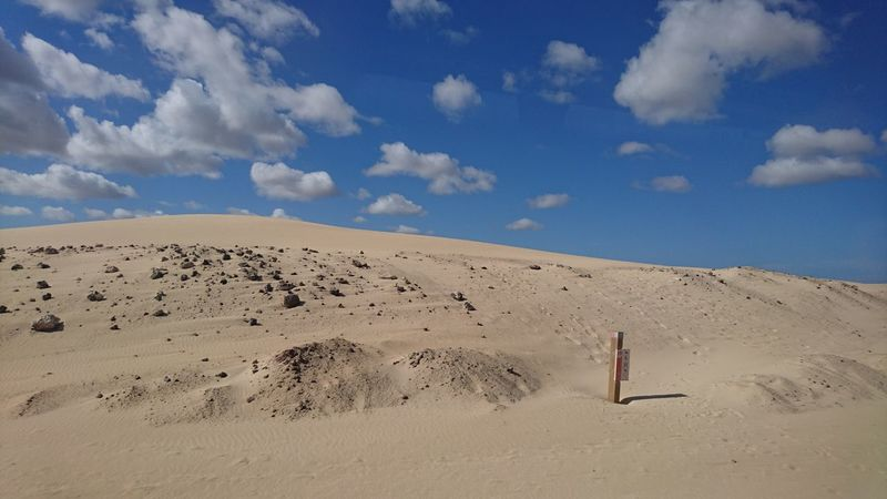 Sand Dunes in Fuerteventura 🙌 Desert Sand Landscape Nature Outdoors Sand Dune Sky No People Holiday Love Beautiful Beautiful Nature Tranquility Vacations Nofilter POTD Corralejo Beauty In Nature Blue Miles Away Fuerteventura