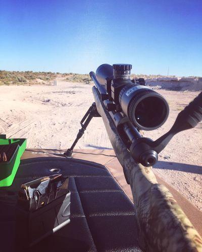 Rifle Shooting Clear Sky Rifle TargetShooting Magazine Shooting Sport Marksman