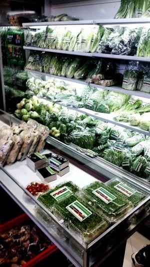 Organic greens shopping. Dontpanicitsorganic