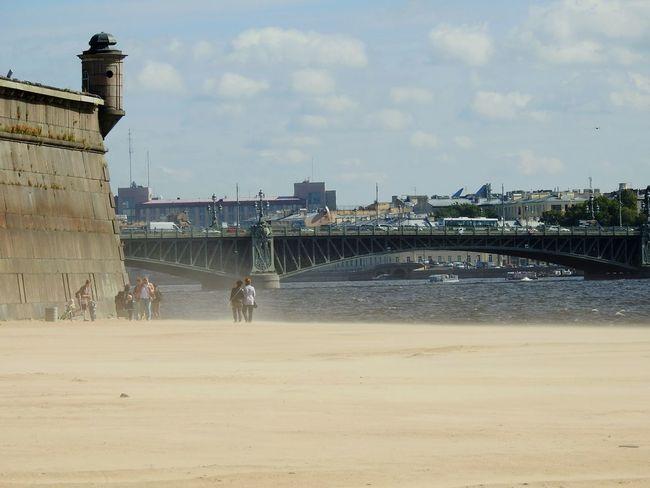 Sandstorm North EyeEmNewHere Neva Petropavlovskayafortress River Beach Water Summer Memories 🌄 Sunlight Day The Week On EyeEm Colors Of Sankt-Peterburg Sankt-Petersburg Russia