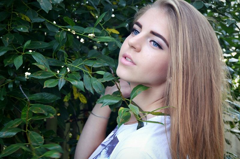 Tumblr Summer Sunset Girl Russian Girl Like World Blue Eyes Nature Look