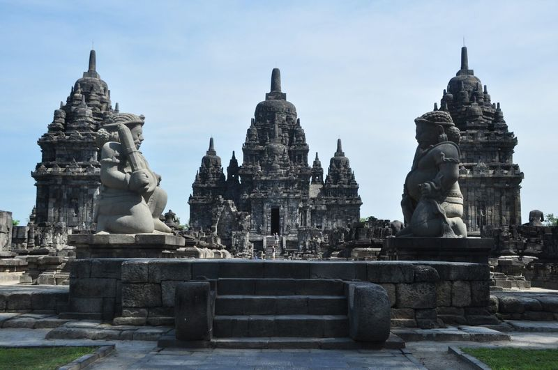 Sewu Temple in Yogyakarta Indonesia, near from Prambanan Temple. Candi Sewu Temple History Stone Heritage Yogyakarta Jogjakarta Central Java Travel