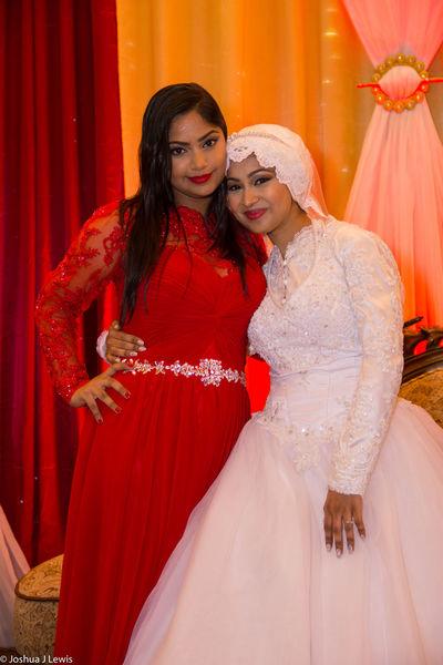 Beautiful People Smiling Wedding Dress Happiness Celebration Beautiful Trinidad And Tobago Life Events Muslimwedding Love Stillife Caribbean Bride Religion