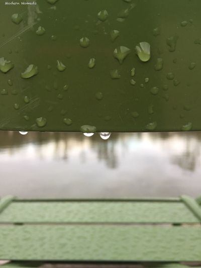 Rainy Paris . Green Chair in Tuileries Garden Vscophile VSCO Modern Nomads France